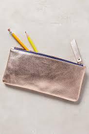 pencil cases metallic idiom pencil anthropologie