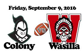 design graphics wasilla wasilla high vs colony high football homecoming 2016 youtube