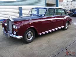 limousine rolls royce rolls royce phantom vi limousine 1975