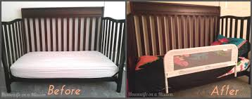 Kidco Convertible Crib Bed Rail The Story Of Three Kidco Convertible Crib Mesh Bed Rail Giveaway