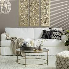 grey slipcover sofa slipcovered sofas you u0027ll love wayfair