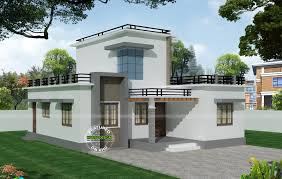 Modern Cottage Design by Flat Roof Floor Plans Modern Cottage Design Abwatches House