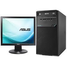 ordinateur de bureau windows 7 pas cher asus d320mt i361000284 écran asus vb199t pc de bureau asus sur