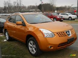 orange nissan rogue 2008 orange alloy metallic nissan rogue sl awd 59860630 photo 15