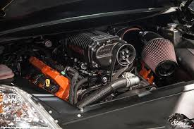 charger hellcat engine sema 2017 performance minded stance is everything