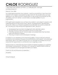 resume cover letter exles free standard cover letters best executive assistant cover letter