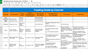 Prospect Tracking Spreadsheet How To Bring Your Organization Into A Multi Touch Attribution World