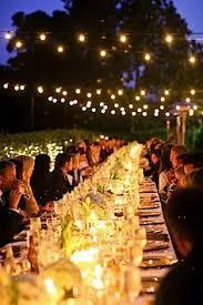 Backyard Wedding Lighting by Outdoor Wedding Lighting Candles Google Search Outdoor