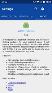 apk for android 2 3 apkupdater 1 5 10 for android