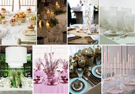 beautiful flowerless wedding centerpiece ideas in flowerless