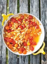 cuisiner les tomates cerises papillote de haricots blancs et de tomates cerises ricardo