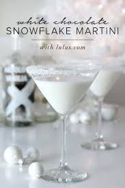 candy cane martini recipe white chocolate snowflake martini lulus com fashion blog