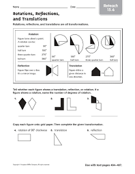 8th grade math transformations worksheet free worksheets library