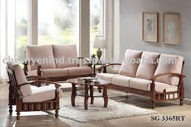 sofa wonderful simple wooden sofa sets for living room simple