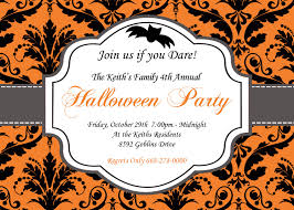 fabulous halloween photo invitations with halloween photo