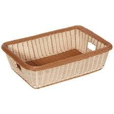 bakery basket get wb 1516 tt rectangular plastic bakery display baskets bread