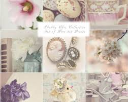 Shabby Chic Purple by Shabby Chic Wall Art Etsy