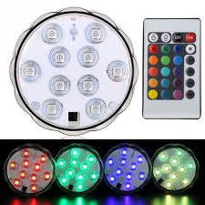 color changing led fish tank lights 4w rgb led remote aquarium fish tank light candle l underwater