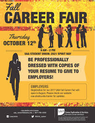 Sample Resume For Job Fair by Career Exploration U0026 Services Career University Of Alaska