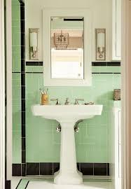 174 best vintage green tiled bathroom images on pinterest