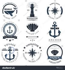 Nautical Decoration by Set Sea Nautical Decorations Isolated On Stock Vector 563856118