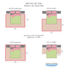 Area Rug Size Area Rug Size Guide Bed Rug Size Guide Area Rug Sizes And