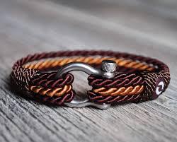 bracelet man images Man brown rope bracelet mens cord bracelet men rope bracelet jpg