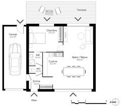 plan chambre plan maison 1 chambre 305615 613 lzzy co