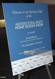 New York Home Design Show Photos Et Images De Architectural Digest Home Design Show Opening