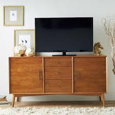Midcentury Modern Tv Stand - living room mid century modern tv stand wood and color floyd media