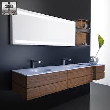 Bathroom Furniture Set Bathroom Furniture 10 Set 3d Model Hum3d