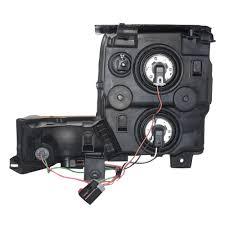 jeep commander black headlights everydayautoparts com 06 10 jeep commander drivers halogen