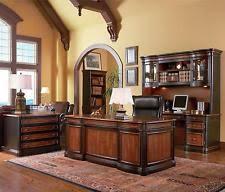 Executive Desk Office Furniture Brown Executive Desks Office Furniture Ebay