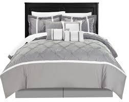 Black And White King Bedding Oversized King Comforter Houzz