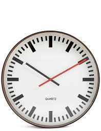 station wall clock m u0026s