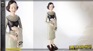 la femme de chambre grande statuette de personnage la femme de chambre 76 cm