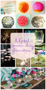 10 great summer party decorations b lovely events