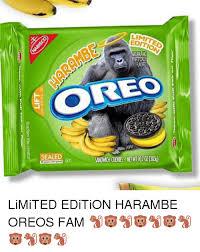 Oreo Memes - 25 best memes about harambe oreos harambe oreos memes