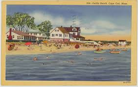 1949 swifts beach on cape cod massachusetts ma postcard view