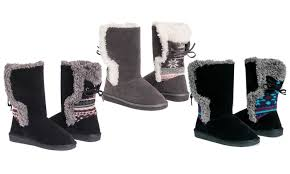 groupon s boots up to 54 on muk luks boots groupon goods