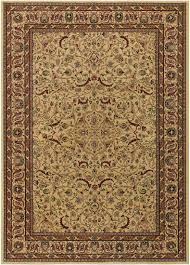 Couristan Outdoor Rugs Home Accents Anatolia Antique Herati Rug Red Cream Rugs Cr