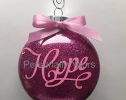 breast cancer ornaments rainforest islands ferry