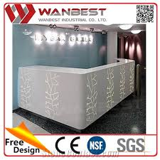 Marble Reception Desk Interior Stone Page52 Wanbest Industrial Co Ltd