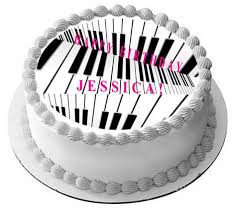 piano cake topper piano edible cake topper cupcake toppers edible prints on