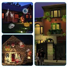 Christmas Lights Projector On House by Tomshine Christmas Projector Lamp Rotating Led Projection Light