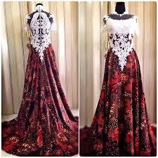 wedding dress batik batik wedding dress by gladicious bridestory