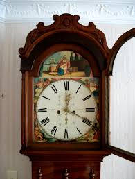 the lothians an 1860 u0027s scottish grandfather clock by james peat