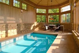 Interior Swimming Pool Houses Grand Rapids Custom Home John Kraemer U0026 Sons
