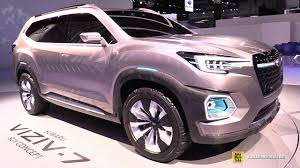 subaru concept truck subaru viziv 7 concept walkaround 2016 la auto show youtube