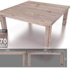 12 Seater Dining Tables 12 Seater Square Heavy Dining Table Eco Furniture Design